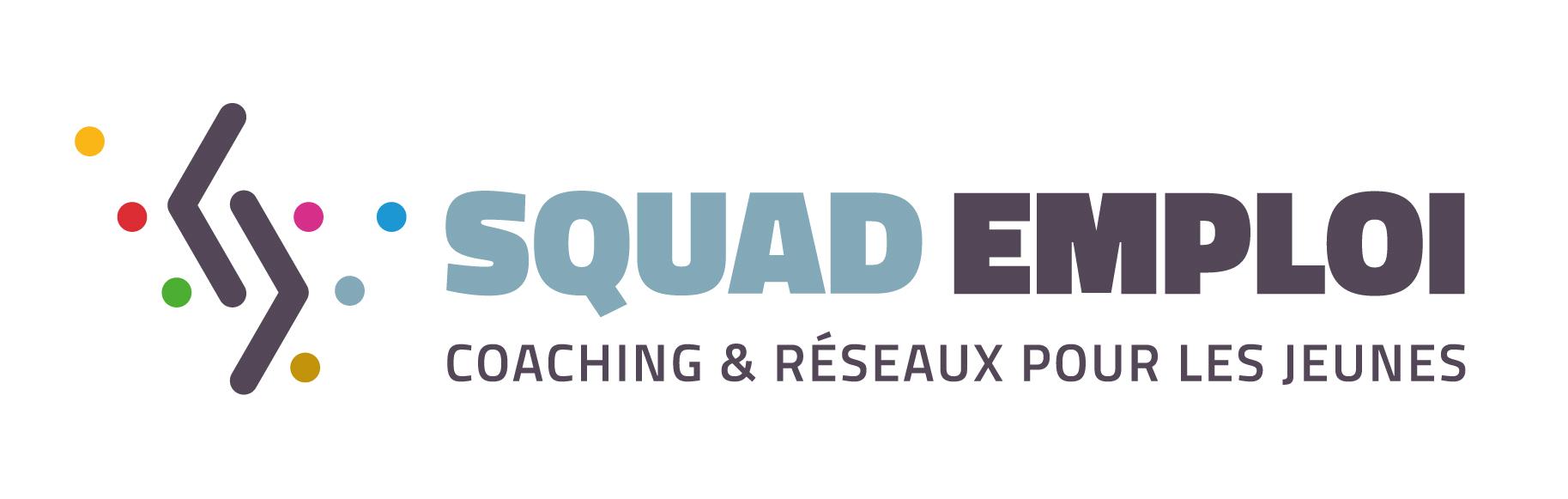 Logo Squad Emploi Horziontal