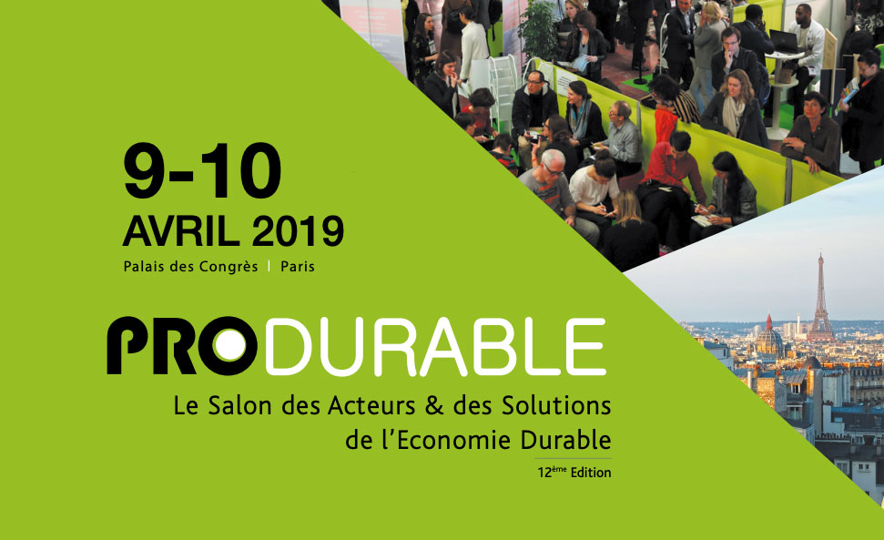 PRODURABLE candidature 2019