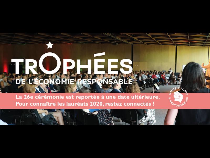 26e cérémonie de remise des Trophées de l'Economie Responsable