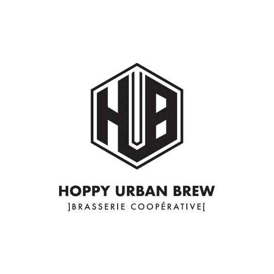 logo Hoppy Urban Brew (HUB SAS SCOP)