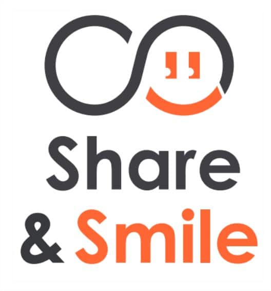 logo Share and Smile