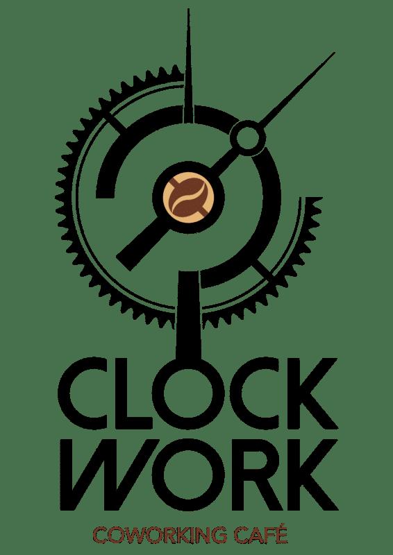 logo Clockwork, Coworking Café